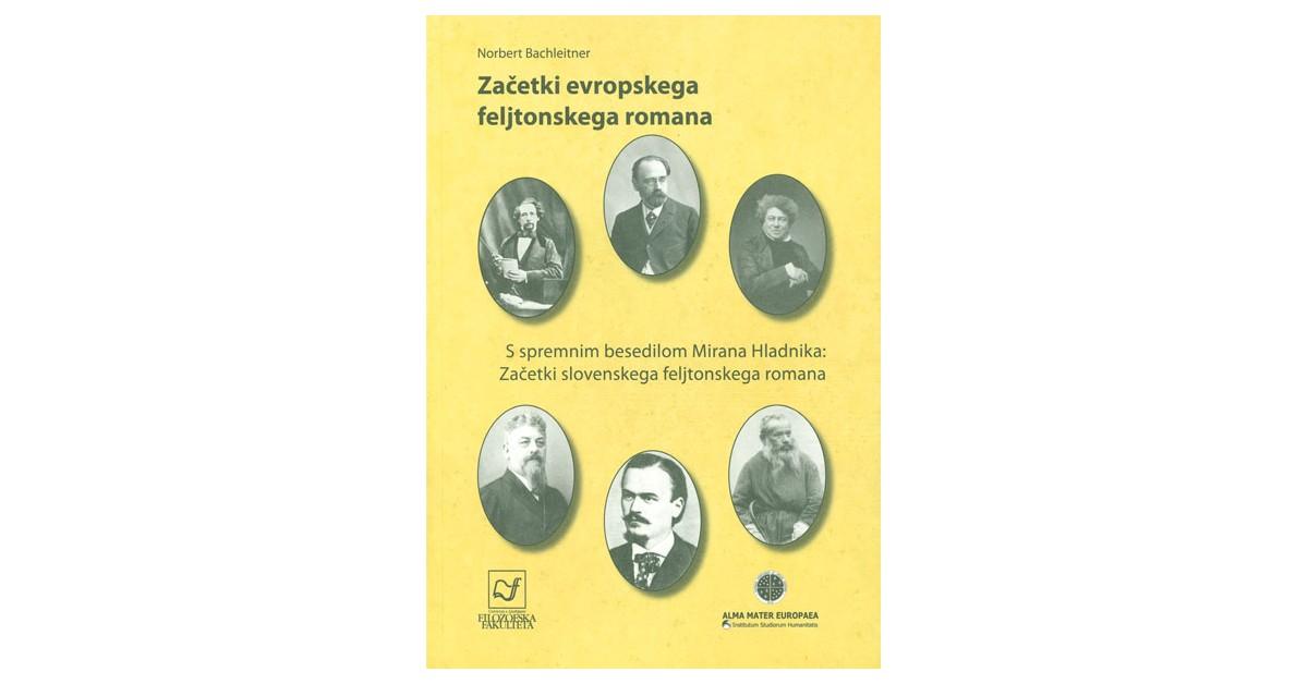 Začetki evropskega feljtonskega romana - Norbert Bachleitner | Fundacionsinadep.org