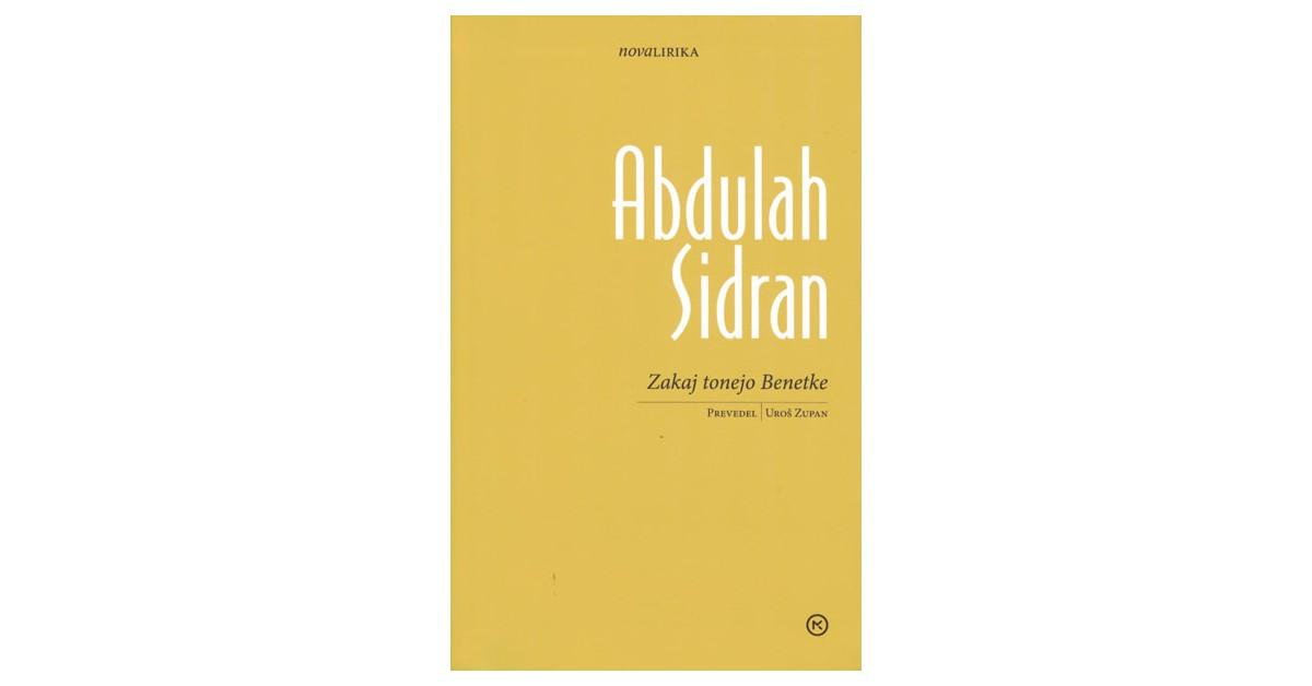Zakaj tonejo Benetke - Abdulah Sidran | Menschenrechtaufnahrung.org