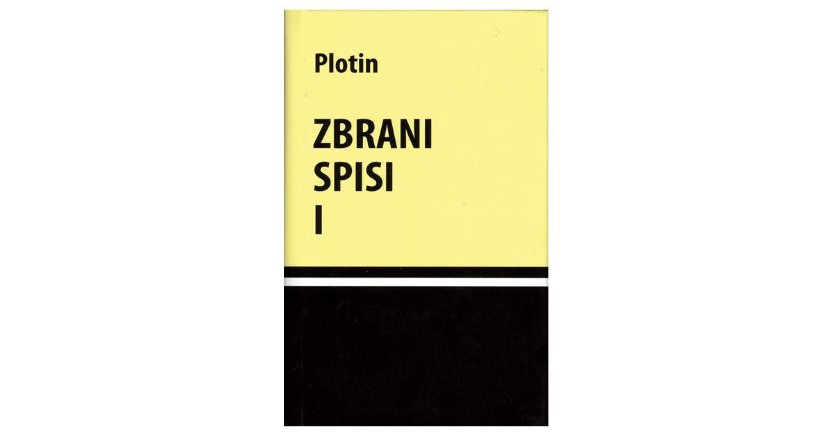 Zbrani spisi I - Plotin   Fundacionsinadep.org