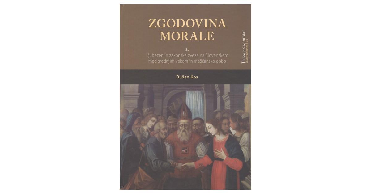 Zgodovina morale - Dušan Kos   Fundacionsinadep.org